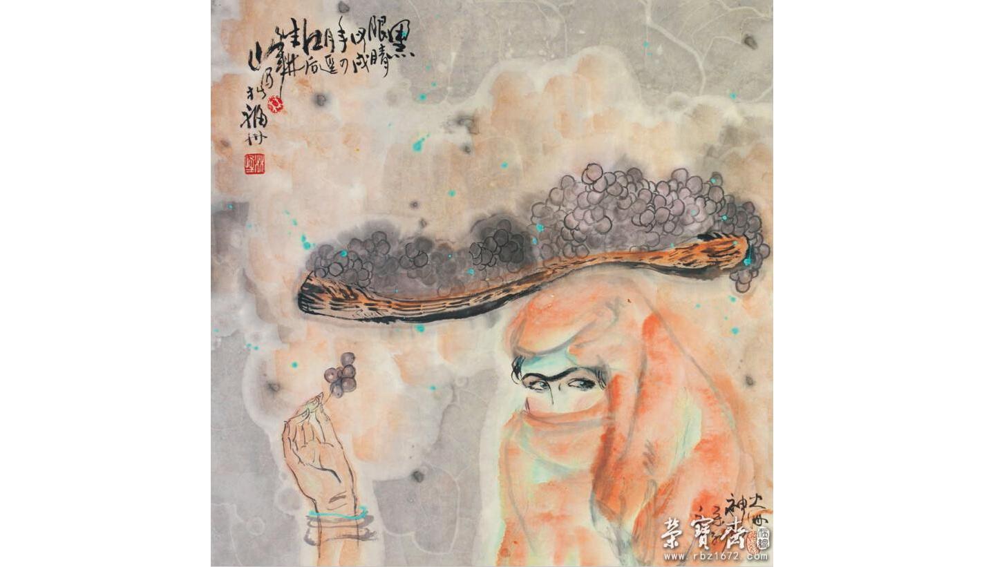 展览介绍            五色交辉  八音合奏——画家林峰的艺术追求