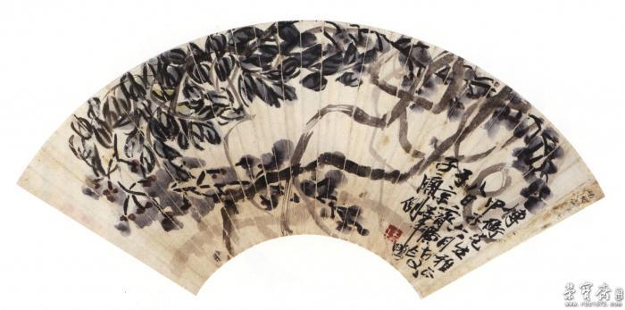 术品拍卖平台 齐白石 紫藤