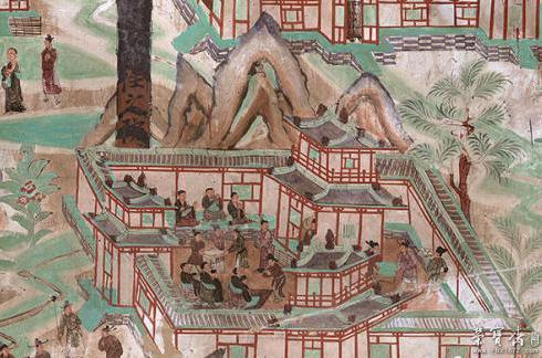 敦煌壁画中的古代重阳:登高赏菊,团圆敬老