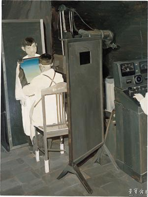 仇晓飞 《透视》 布面油画 2004
