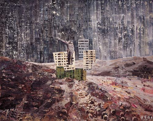 仇晓飞 《乌有之乡》 布面油画 2010