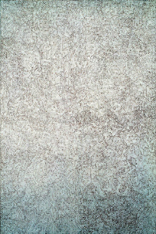 作品名称:水磨石 作者:王光乐 作于:2006 作品材质:布面油彩 作品尺寸:180×140cm