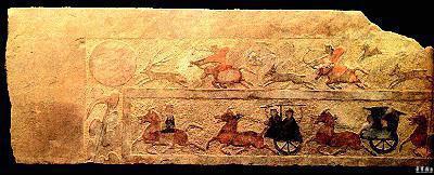 东汉的画像砖以河南,四川两省出土最多.图片