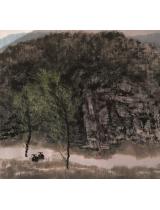 《春消息》90×95.5cm 1998年