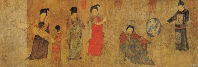 中国宫廷场景素材
