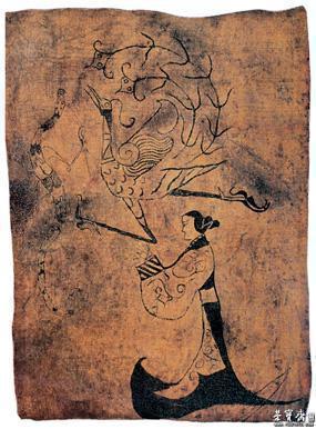 淮南汉代古墓结构图