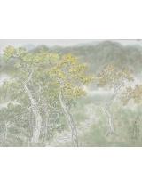 《初春花亦黃》32cmX41cm 國畫 2014年