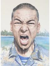 《南海·南海》国画 300cm×230cm 第十二届全国美展评委作品