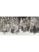 《民族大講堂》180cmX400cm 國畫 2012年