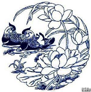 中国古代青花瓷传统图案及寓意(二)