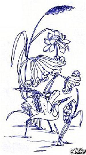 文房书画艺术品拍卖平台-中国古代青花瓷传统图案及