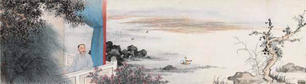 《刘定之像》上海博物馆藏