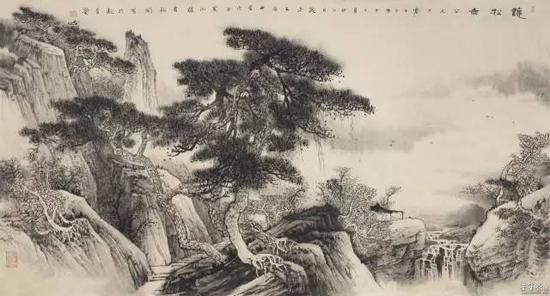 澄怀味象融神思丨王裕国工笔山水画欣赏