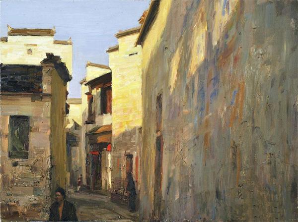 比如,后印象派梵高的油画以绚烂之色彩,奔放之笔触表达狂热的感情而为